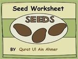 Seed (Plant) Worksheet: