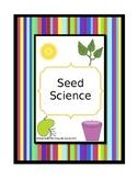 Seed Science Activities & Worksheets