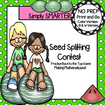 Seed Splitting Contest:  NO PREP Fraction of a Group Race