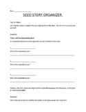 Seed Story Graphic Organizer