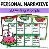 Personal Narrative/small moments/ Writing Prompts