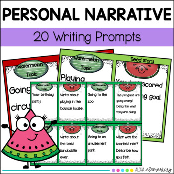 Seed Story (small moments) Writing Prompts