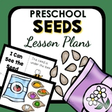Seed Theme Preschool Lesson Plans