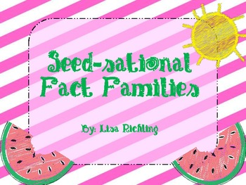 Seed-sational Fact Families