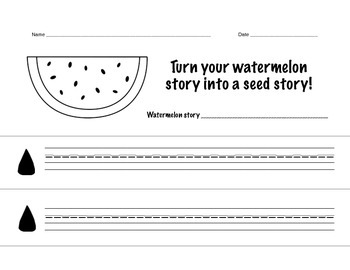 Seed stories- Lucy Calkins