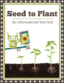 Seed to Plant: National Geographic Kids