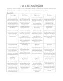 Seedfolks Activities~ Bloom's Taxonomy