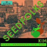 Seedfolks Kim Unit. (Ch. 1). Teach ELA! ESL Accessible.