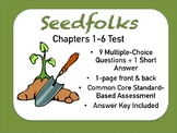Seedfolks Test Chapters 1-6