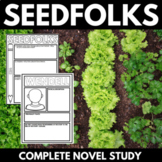 Seedfolks Novel Study Unit with Questions, Projects. and Activities