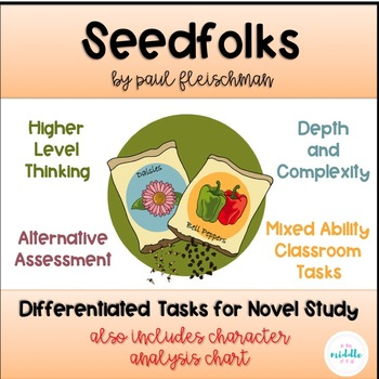 Seedfolks: Differentiated Tasks for a Novel Study