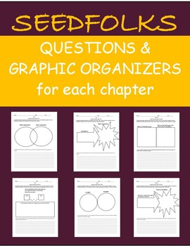 Seedfolks - Graphic Organizers & Questions for Each Chapter - Cite Text Evidence