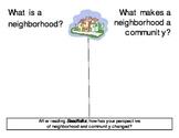 Seedfolks Neighborhood vs Community Chart