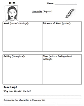 Seedfolks Novel Unit (30 pages)