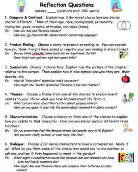 Seedfolks Novel Unit (30 pages) - Chapter Notes, Essays, Quiz, Themes