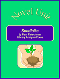 Seedfolks Novel Unit--Literary Analysis Focus