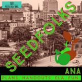 Seedfolks Ana Unit. (Ch. 2) Teach ELA! ESL Accessible. Fun
