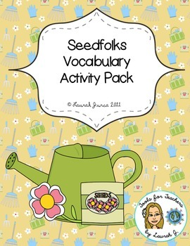 Seedfolks Vocabulary Activity Pack