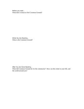 Seedfolks by Paul Fleischman Print and Teach Unit Plan