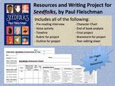 Seedfolks, by Paul Fleischman: Resources, Activities, & Fi