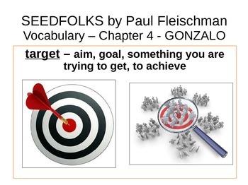 IR Seedfolks by Paul Fleischman Vocabulary - Gonzalo PPt