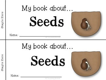 Seeds-Let's Learn About Seeds