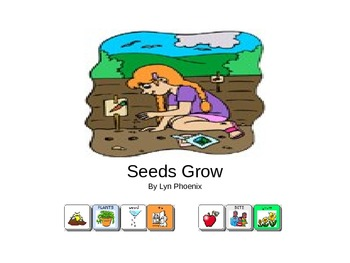 Seeds Grow Book (Simple Version) by Lyn Phoenix