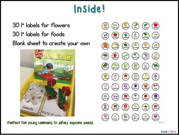 Seeds Labels {{Editable}}