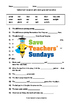 Seeds - Plant growth and reproduction Lesson plan and worksheet