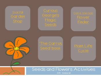 Seeds and Flowers PDF Activities