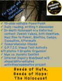 Elie Wiesel Night Holocaust Genocide 43-slide Powerpoint English History