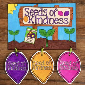 Seeds of Kindness Craftivity