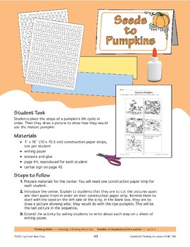 Seeds to Pumpkins