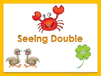 Seeing Double - Addition Strategy K-1