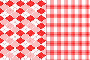 Digital Background Papers - Red