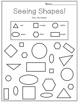 Seeing Shapes Bundle