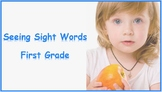 Seeing Sight Words - First Grade