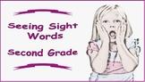 Seeing Sight Words - Second Grade
