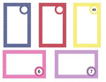 Seeing Spots - Cupboard Labels