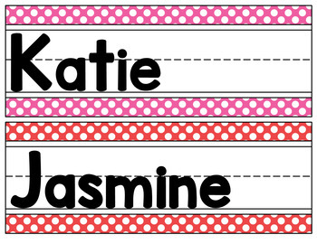 Seeing Spots - Name Tags