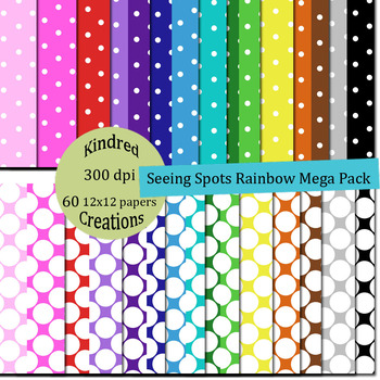 Seeing Spots Paper Pack