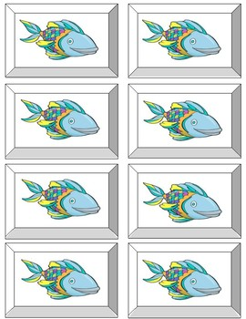 Seeing Stars Reading 2 SYLLABLE    GO FISH GAME !  SET 1  - 40 CARDS  NON-WORDS