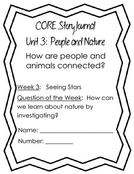 Seeing Stars Comprehension Journal