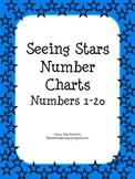 Seeing Stars Number Charts