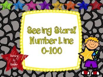 Seeing Stars!  Number Line 0-100