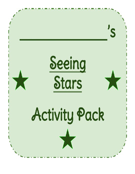 Seeing Stars Reading Street Packet