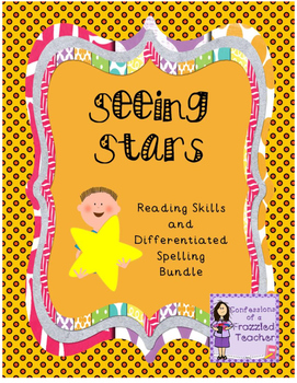 Seeing Stars Reading and Spelling Bundle (Scott Foresman Reading Street)