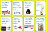Seeing Stars STAR WORDS (sets 1-3) MATCHING GAME-Sentence Format