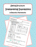 Seeing Structure: Interpreting Expressions