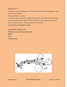 Seeing music and rhythm